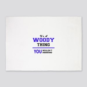 WOODY thing, you wouldn't understan 5'x7'Area Rug