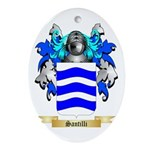 Santilli Oval Ornament