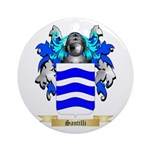 Santilli Round Ornament