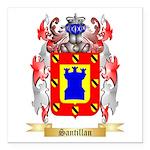 Santillan Square Car Magnet 3