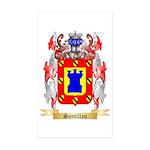 Santillan Sticker (Rectangle 50 pk)