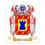 Santillan Small Poster