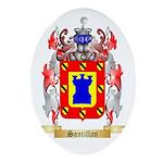 Santillan Oval Ornament
