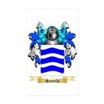 Santello Sticker (Rectangle 50 pk)