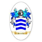 Santello Sticker (Oval 50 pk)