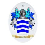 Santello Oval Ornament