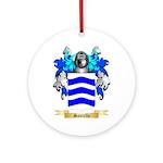 Santello Round Ornament