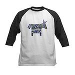Texas Blue Donkey Kids Baseball Jersey