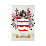 Santa Rectangle Magnet (10 pack)