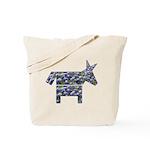 Texas Blue Donkey Tote Bag
