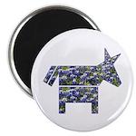 Texas Blue Donkey Magnet