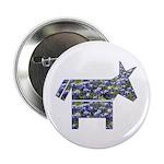 Texas Blue Donkey Button