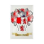 Santa Maria Rectangle Magnet