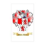 Santa Maria Sticker (Rectangle)