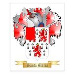 Santa Maria Small Poster