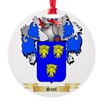 Sant Round Ornament