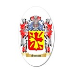 Sansum 35x21 Oval Wall Decal