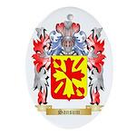 Sansum Oval Ornament