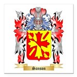 Sanson Square Car Magnet 3