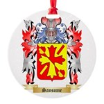 Sansome Round Ornament