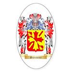 Sansome Sticker (Oval 50 pk)