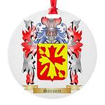 Sansom Round Ornament