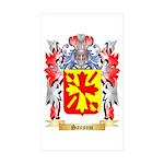 Sansom Sticker (Rectangle 50 pk)