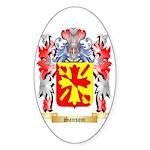 Sansom Sticker (Oval 10 pk)