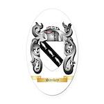 Sankey Oval Car Magnet