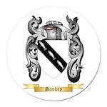 Sankey Round Car Magnet