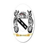 Sankey 35x21 Oval Wall Decal