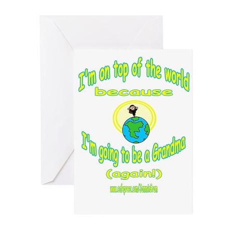 GRANDMA AGAIN Greeting Cards (Pk of 10)