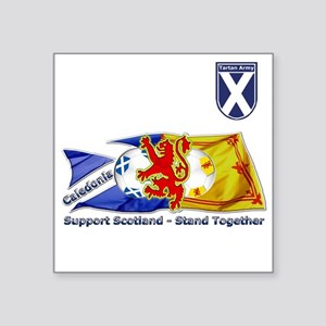 stand together ta badge Sticker