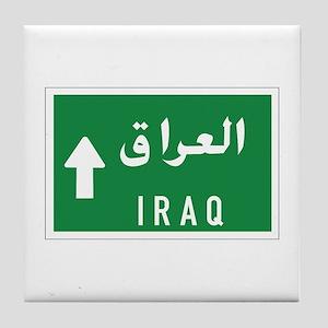 Iraq roadmarker, Iraq Tile Coaster