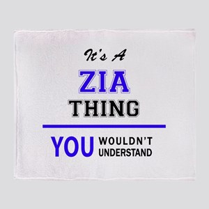 ZIA thing, you wouldn't understand! Throw Blanket