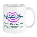 BE the World You Want to See Ceramic Mug