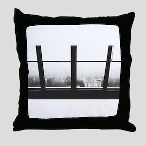 Photo Print - Monochromatic Throw Pillow