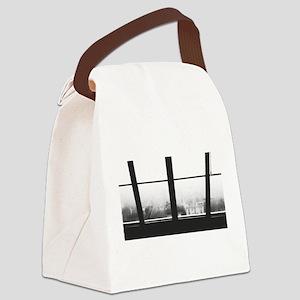Photo Print - Monochromatic Canvas Lunch Bag