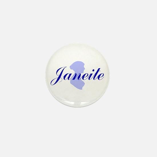 """Bennetgirls Jane Austen """"janeite"""" Mini Button"""