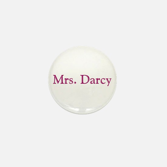 bennetgirls Mrs. Darcy Mini Button