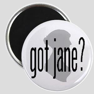 """bennetgirls Jane Austen """"got jane?"""" Magnet"""