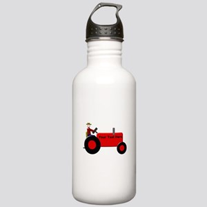 Personalized Red Tract Stainless Water Bottle 1.0L