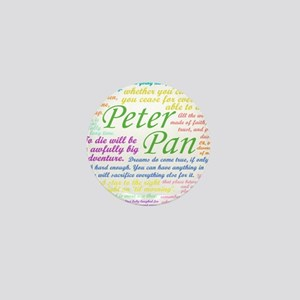 Peter Pan Quotes Mini Button