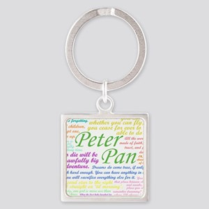 Peter Pan Quotes Keychains