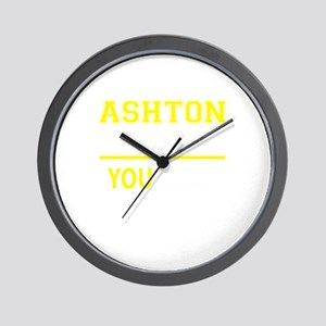 ASHTON thing, you wouldn't understand! Wall Clock