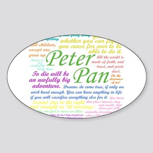 Peter Pan Quotes Sticker