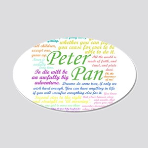 Peter Pan Quotes Wall Decal