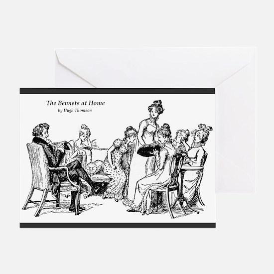 Bennetgirls Bennets at Home Greeting Card