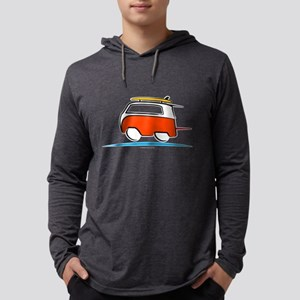 Red Shoerty Van Gone Surfing Long Sleeve T-Shirt
