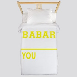BABAR thing, you wouldn't understand! Twin Duvet